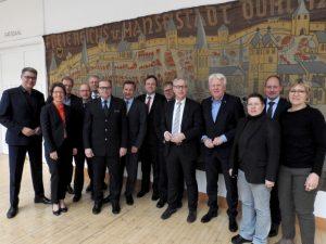 Die Dortmunder Polizeiführung und der Verwaltungsvorstand der Stadt Dortmund tagten gemeinsam.