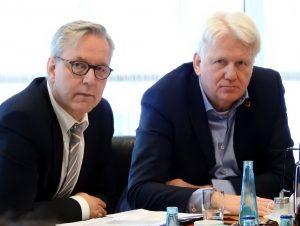 Polizeipräsident Gregor Lange und OB Ullrich Sierau ziehen an einem Strang.