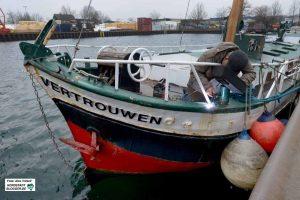 """ZWAR-Segelgruppe Der Umbau und der Betrieb des Segelschiffs """"Vertrouwen"""" (Vertrauen) ist eines der größten ZWAR-Projekte. Mittlerweile ist daraus ein Verein entstanden. Archivfoto: Alex Völkel"""