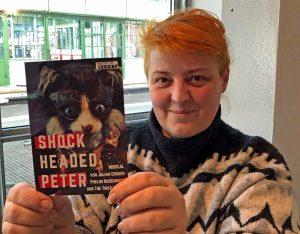 """Das """"Grusical"""", so bezeichnet Rada Radojcic """"Shockheaded Peter"""", hält sie nach eigenen Angaben für """"skurril und grotesk"""". Foto: Joachim vom Brocke"""