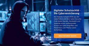 Die Cyber-Versicherung für Internetsicherheit. Foto: Screenshot