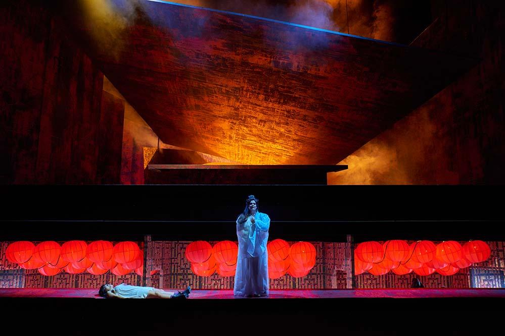 Stéphanie Müther als Turandot. Foto: Theater Dortmund