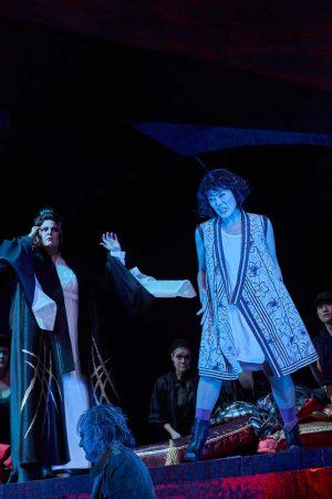 Sae-Kyung Rim als Liú beim Verhör durch Turandot.
