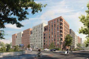 Wohnungsbauprojekt Lindemannstrasse_VISU_II
