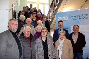 Besuch der Landtagsabgeordneten in der ZWAR-Zentralstelle.