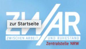 Das ZWAR-Logo. Foto: Screenshot