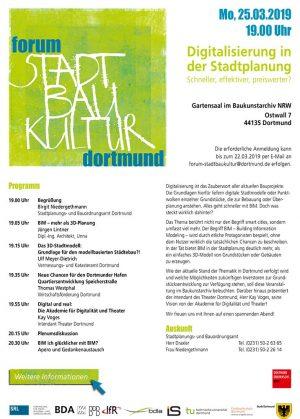 Der Flyer zur Veranstaltung mit allen wichtigen Infos.