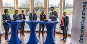 Für das Projekt kooperieren die Emschergenossenschaft, Regionale Künste Ruhr und der Regionalverband Ruhr. Foto: Emschergenossenschaft