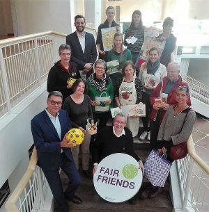 VertreterInnen des Aktionsbündnisses Fairer Handel Dortmund. Fotos: Angelika Steger