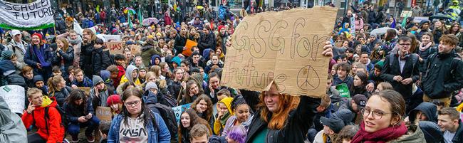 Fridays for Future: Beim dritten Globalen Klimastreik erfahren die AktivistInnen weitere Solidarität in Dortmund