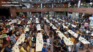 8.500 Flüchtlinge nahm Dortmund auf; auf dem Gros der Integrationsfolgekosten blieb die Stadt sitzen.