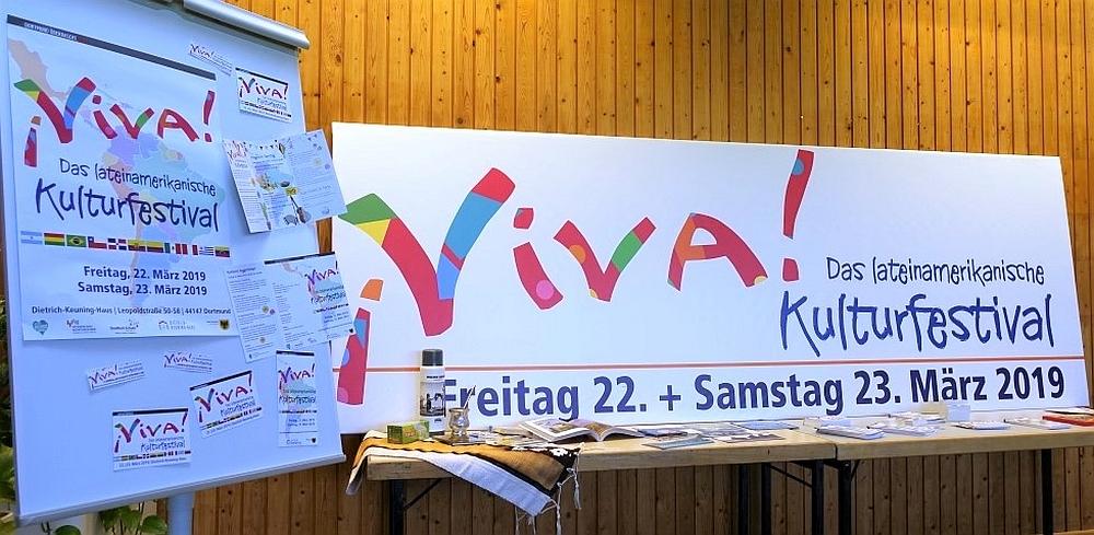 "Zum dritten Mal im Dortmunder Dietrich-Keuning-Haus: das ""¡VIVA!""-Kulturfestival. Fotos: Thomas Engel"