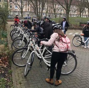 Fahrradtour durch die Nordstadt.
