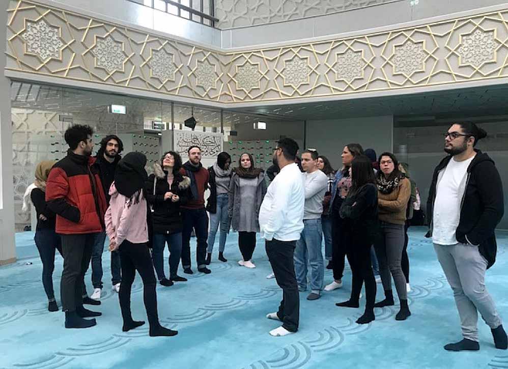 Auch ein Moscheebesuch standen für die deutschen und israelischen Jugendlichen auf dem Programm.