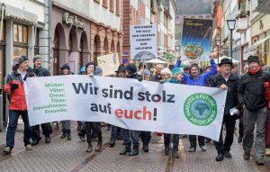 """In Dortmund hat sich mittlerweile auch eine Ortsgruppe von """"Parents for Future"""" gegründet. Sie unterstützen den Klimastreik der SchülerInnen und Studierenden."""