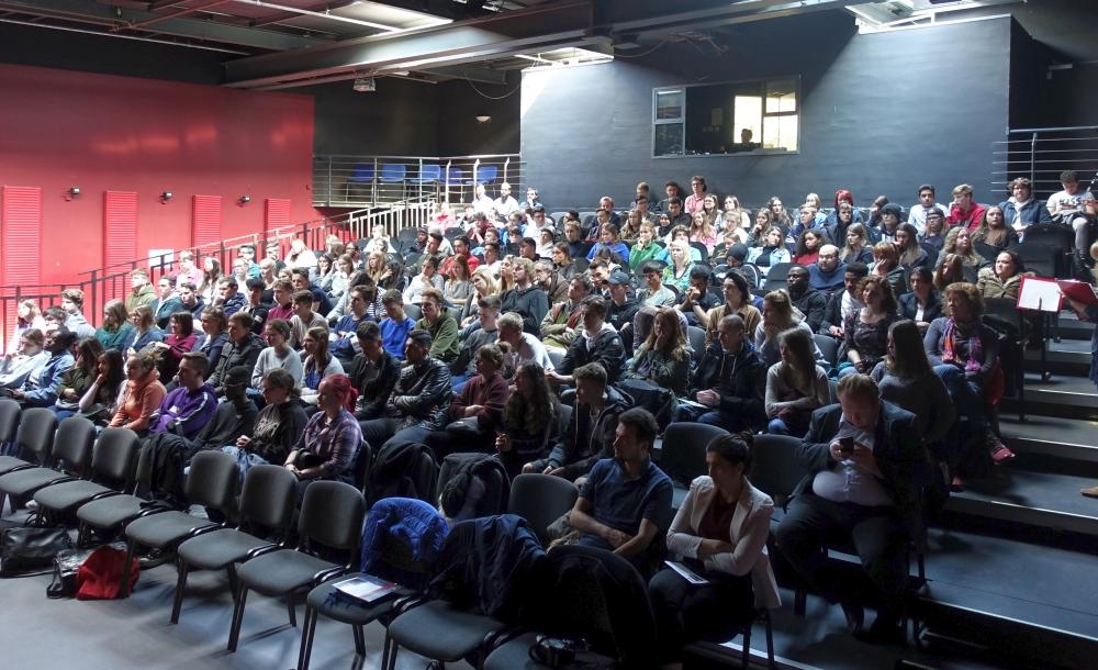 Gut besucht hat war die Europa-Debatte von Jugendring und EDIC im Depot.