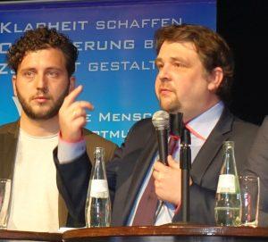 Dennis Radtke (rechts)