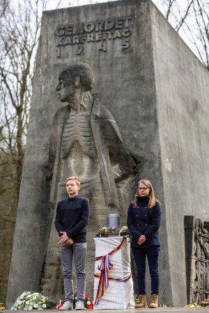 Gedenkfeier an der Bittermark, Dortmund, 30. März 2018