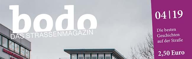 """""""bodo-das Straßenmagazin"""" in Dortmund berichtet im April unter anderem über die """"Fridays for Future""""-Bewegung"""
