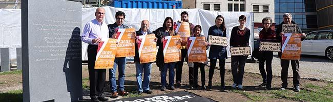 """Protest und Gedenken: """"Tag der Solidarität"""" in Dortmund erinnert am 4. April 2019 an die Opfer des NSU-Terrors"""