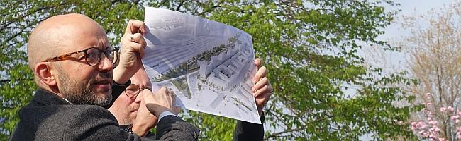 FOTOSTRECKE: Bürgerwerkstatt zur Planung und Gestaltung des nördlichen Bahnhofsumfelds stößt auf reges Interesse
