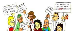 Das Dortmunder Bündnis für mehr Personal im Gesundheitswesen möchte die Öffentlichkeit sensibilisieren.
