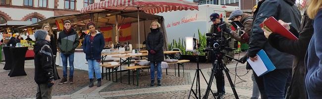 """""""Europa in Dortmund"""" – ein Film  von und mit SchülerInnen der Droste-Hülshoff-Realschule und Regisseur Cem Arslan"""