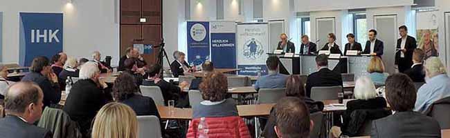 Für Europa und doch so verschieden: KandidatInnen zur Europawahl debattierten bei der IHK Dortmund