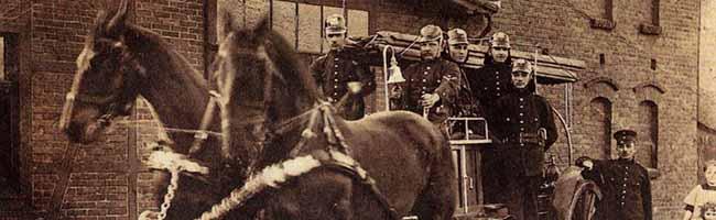 SERIE Nordstadt-Geschichte(n): Behelfswachen waren die ersten Feuerwehrstützpunkte in der Nordstadt