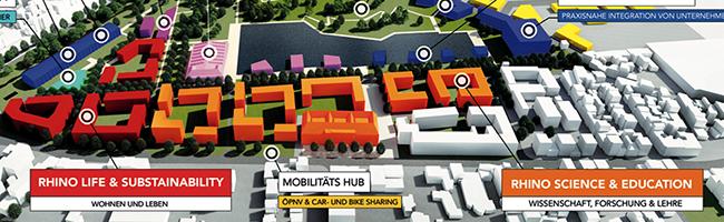 """Machbarkeitsstudie zum Umbauprojekt """"Smart Rhino"""" positiv – Unionviertel Dortmund als zukünftige """"Smart City"""""""