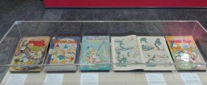 Gedruckte Comics von verschiedenen Zeichnern, die Carl Barks´ Stil immitierten. Fotos: A. Steger
