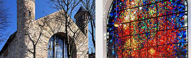 Denkmal des Monats Mai 2019: Schutz für den brennenden Dornbusch in der Kirche St. Bonifatius in Dortmund