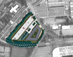 Am Rabenloh soll ein Kongresshotel und eine Parkpalette mit Logistikfläche entstehen.