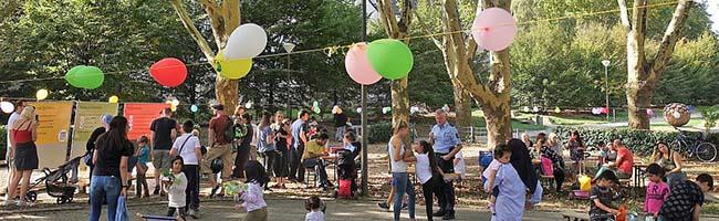 Frühlingsfest im Blücherpark: Projekt KoopLab will auf der Grünfläche zukünftigen Quartierstreffpunkt erschaffen