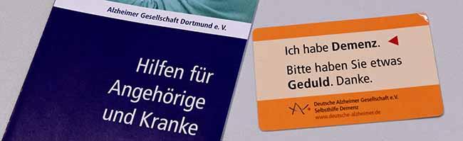 Wenn das Vergessen zur Krankheit wird:Seit 30 Jahren arbeitet die Alzheimer-Selbsthilfe ehrenamtlich in Dortmund