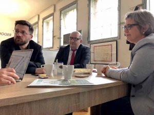 Thomas Kutschaty, Volkan Baran und Anja Butschkau üben massive Kritik. Foto: Sascha Fijneman