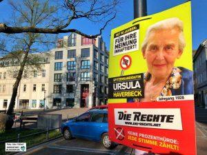 Die Neonazi-Splitter-Partei hat die 90-jährige Inhaftierte zu ihrer Spitzenkandidatin zur Europawahl gekürt.