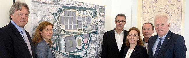 Stadt Dortmund stellt Mega-Planungen für Veranstaltungs-, Sport-  und Eventmeile rund um die Strobelallee vor