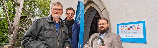 Wechsel im Kindermuseum Adlerturm in Dortmund: Philipp Sulzer löst Karl Heinrich Deutmann als Leiter ab