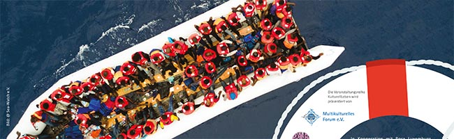 Helden oder Kriminelle? SeenotretterInnen berichteten im DKH über ihr ehrenamtliches Engagement auf hoher See
