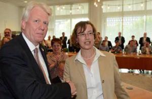Ein Kopf-an-Kopf-Rennen lieferte sich 2014 Amtsinhaber Ullrich Sierau (SPD) mit Dr. Annette Littmann (CDU).