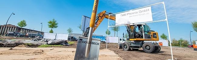 Symbolischer Spatenstich: Dortmunder Familiengesellschaft TMM zieht es ab sofort Richtung Phoenix West