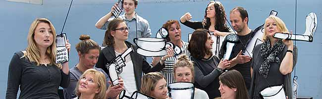 """Mini-Dramen-Collage """"13 Personen wollen spielen""""  hat am Freitag Premiere im Theater im Depot"""