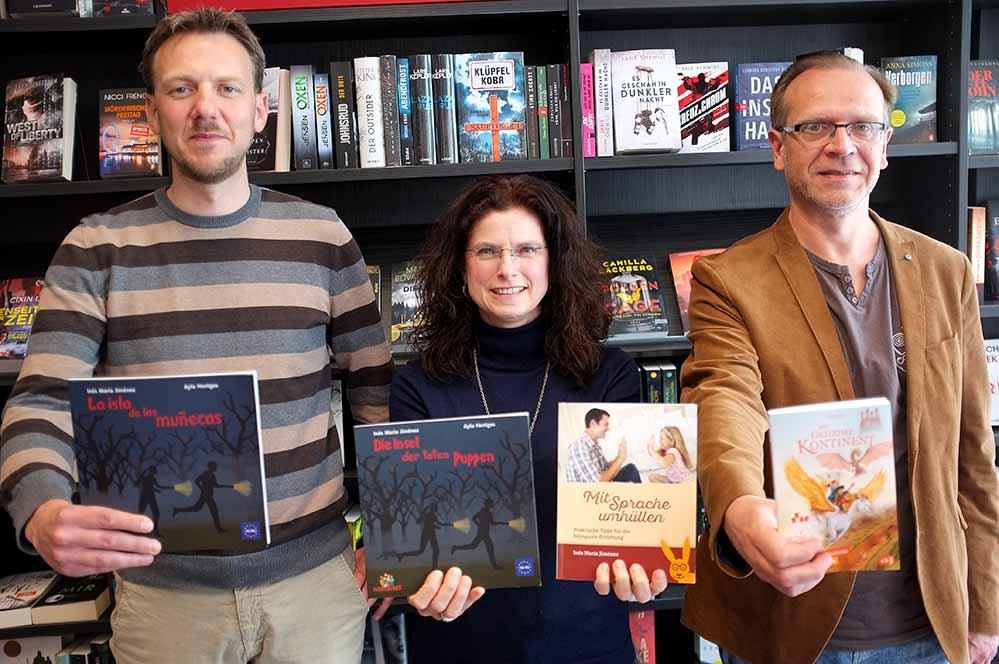 Die Dortmunder Autorin Inés María Jiménez liest auf Einladung von Litfass. Foto: Susanne Schulte