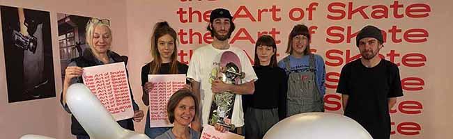 """""""The Art of Skate"""" in Dortmund: Internationale Ausstellung auf der UZWEI – Gemeinschaftsprojekt mit der Skate-Szene"""