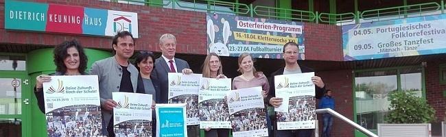 Gibt es eine Zukunft nach der Schule? – Chancen für alle zeigt die Ausbildungsmesse im Dietrich-Keuning-Haus