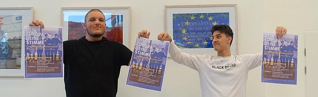 Europa ist überall – und auch ein Teil von Dir: Junge Leute werben mit Multimedia-Performance für den Urnengang