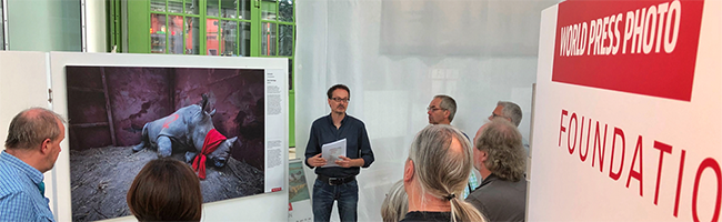 World Press Photo-Ausstellung: Diskussionsforen nehmen Lokaljournalismus und EU-Urheberrechtsreform in den Fokus
