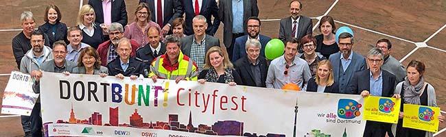 DORTBUNT! – Das vierte City-Fest bietet fast 125 Stunden Programm mit über 100 KünstlerInnen auf zehn Bühnen