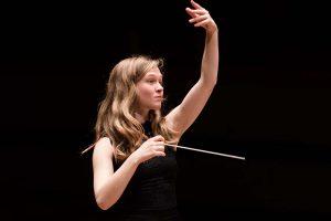 Die litauische Dirigentin Mirga Gražinyté-Tyla. Foto: Benjamin Ealovega